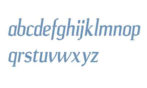 Ulian W00 Bold Italic
