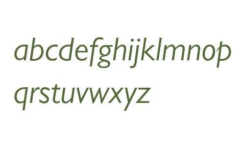 Gill Sans MT Pro Book Italic