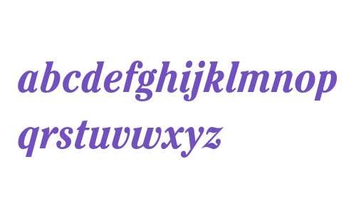 ITC Cheltenham Std Bold Condensed Italic