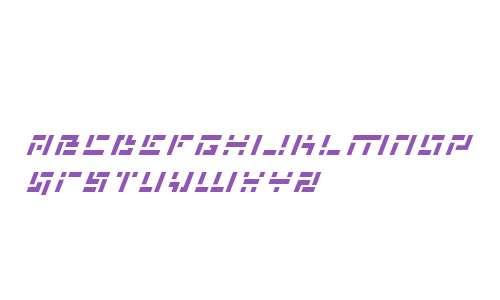 Missile Man Italic