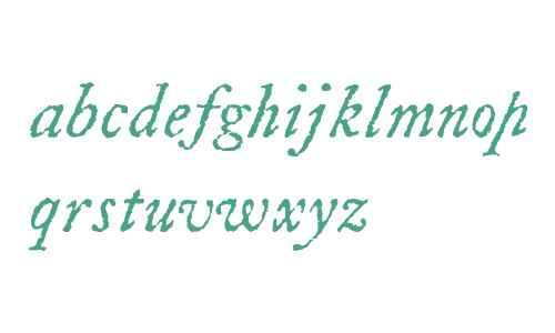 LetterpressText W00 Italic