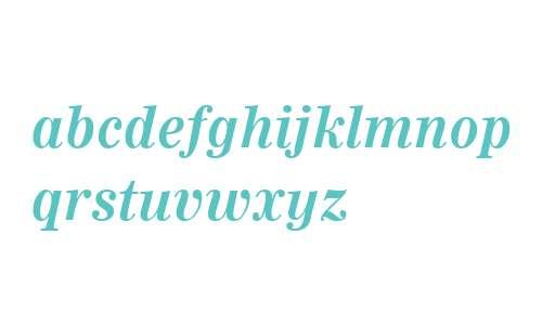 Worldwide W01 Bold Italic