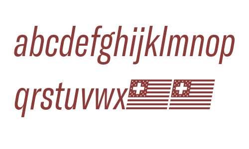 GT America Compressed Light Italic
