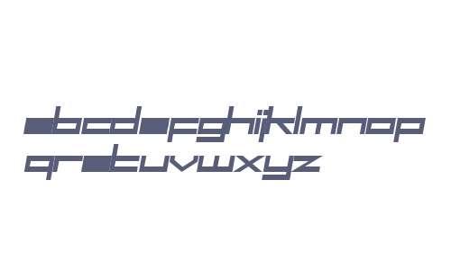 SF Square Head Bold Italic V2 V2