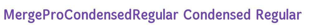 MergeProCondensedRegular