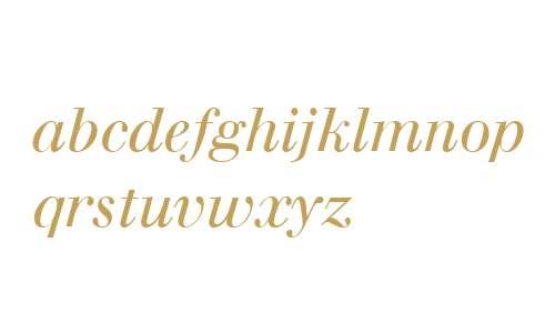 Walbaum W04 Italic