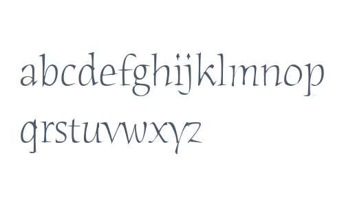 Humana Serif ITC W04 Light