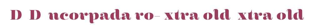 BPDYQD+EncorpadaPro-ExtraBold