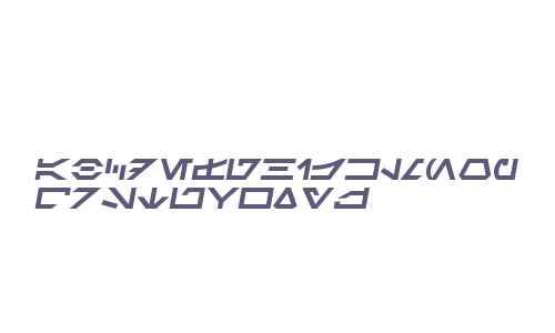 SF Distant Galaxy Symbols Italic V2 V1