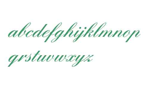English Script W04 Demi