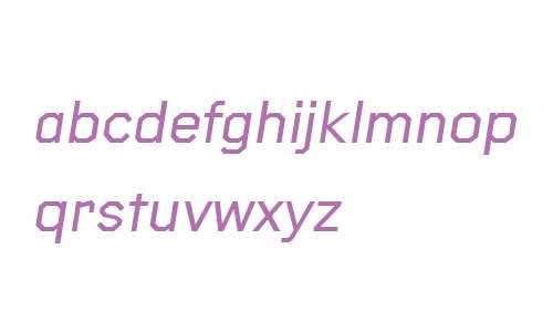 Raker Medium Italic