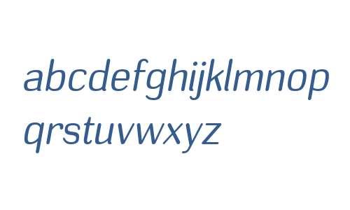 Headlight W00 Book Italic