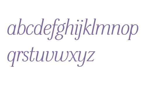 ITC Stepp W01 Medium Italic