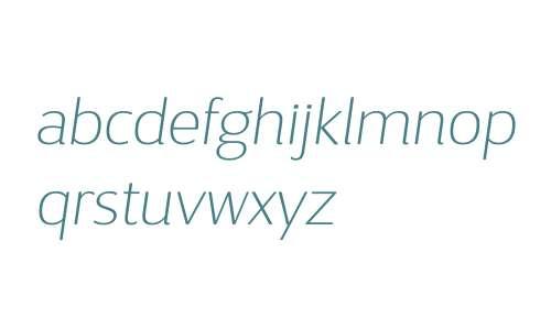 D Sari W03 Thin Italic