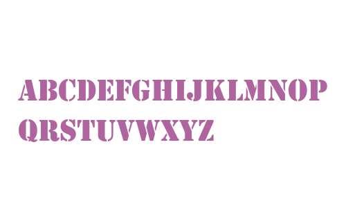 Stencil-Regular