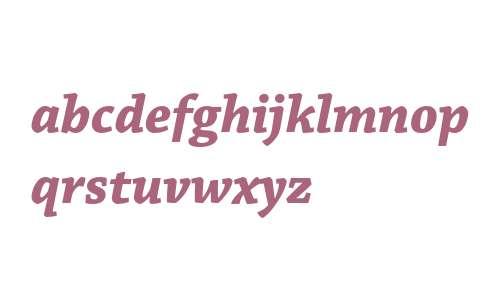 Chaparral Pro Bold Italic