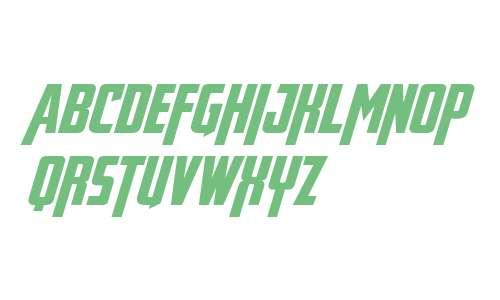 Avengeance Heroic Avenger Bold Italic