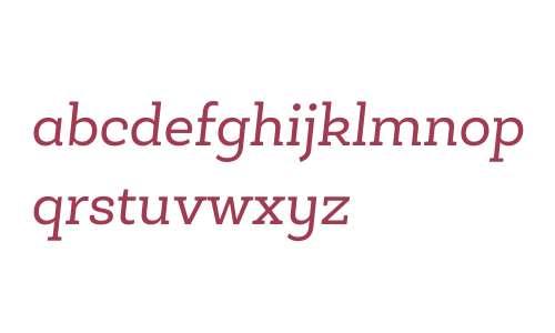Roble Alt W03 Italic