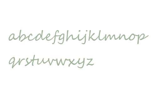Segoe Script