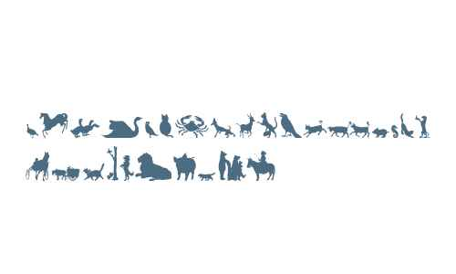 Animal Silhouettes Three