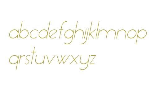 Essence Sans Light Italic V2