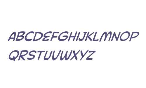 Collector Comic W05 Italic