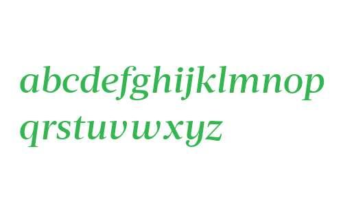 Acta Deck W00 Medium Italic