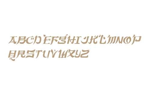 TokyoCaps Italic