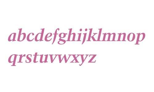 Kuenstler 480 Bold Italic