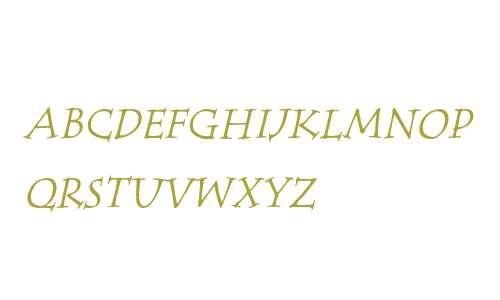 Tempus SC ITC Italic