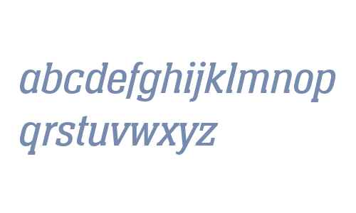 Neue Aachen W04 Book Italic
