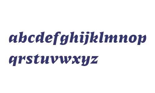 Sergio FY Bold Italic
