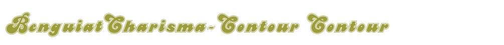 BenguiatCharisma-Contour