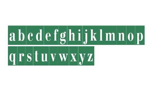 PT BodoniCameo Cyrillic
