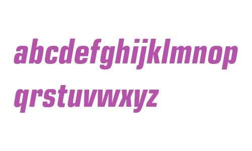 EuropeCond Bold Italic