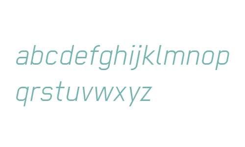 Regular W00 Light Italic