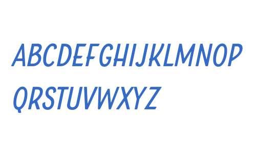 Boucherie Sans W01 Italic