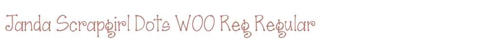 Janda Scrapgirl Dots W00 Reg