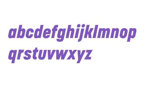 Korolev W04 Heavy Italic