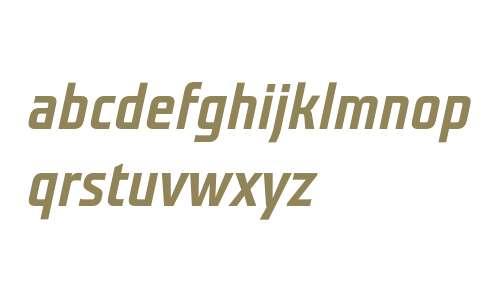 Teuton Mager Bold Italic
