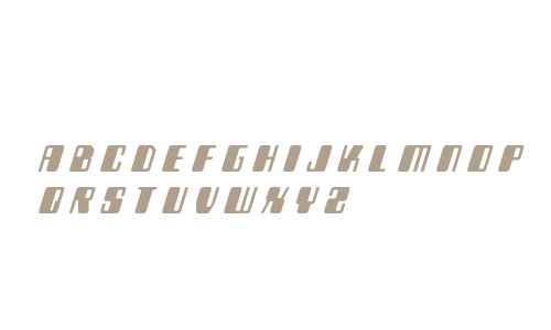 Zyborgs Title Italic