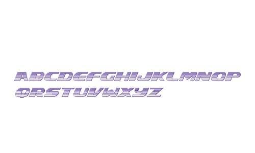 Xcelsion Chrome Italic Italic