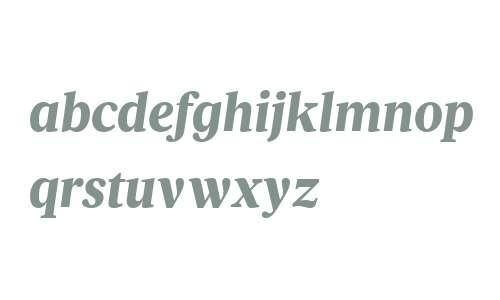 Velino Text W04 Black Italic