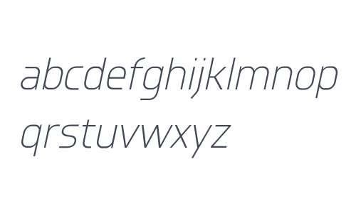 Knul W00 Light Italic