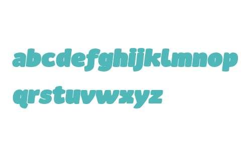 Ovink W00 UltraBlack Italic
