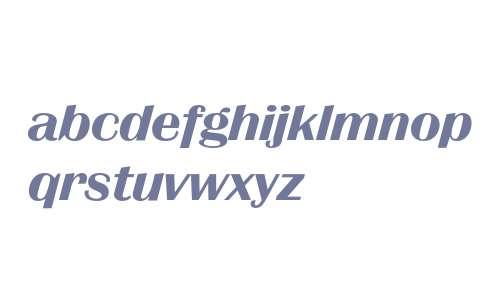Britannic Bold Italic