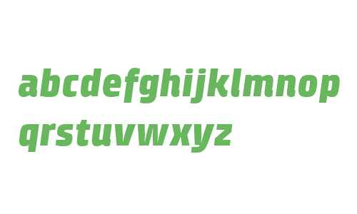 Klint W04 Black Italic