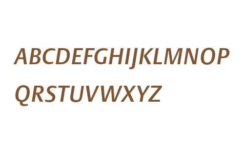 DTLArgoT Caps Italic