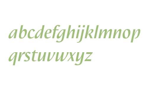 Nautilus LT W04 Medium Italic