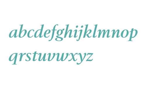 BerlingTOT W03 Bold Italic
